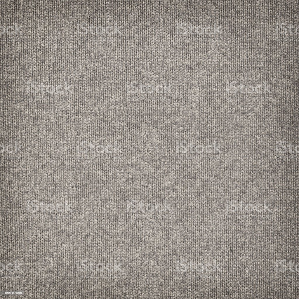 High Resolution Woolen Woven Fabric Beige Vignette Texture stock photo