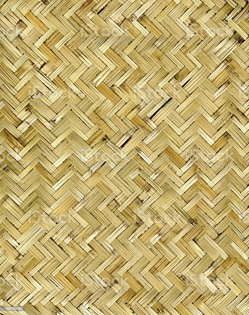 High Resolution Woven Cane Pattern royalty-free stock photo