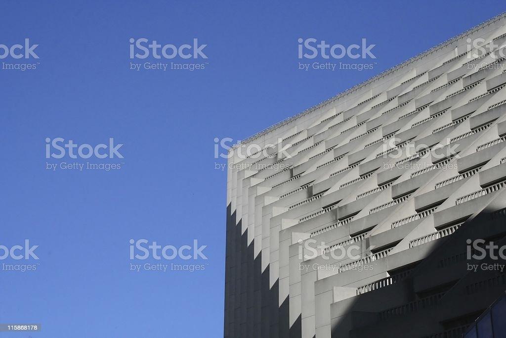 Gratte-ciel, Bleu ciel photo libre de droits