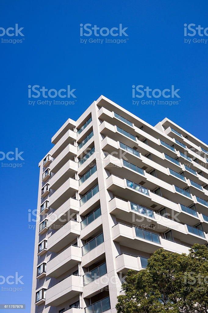 High rise apartment in Kanagawa, Japan 11 stock photo
