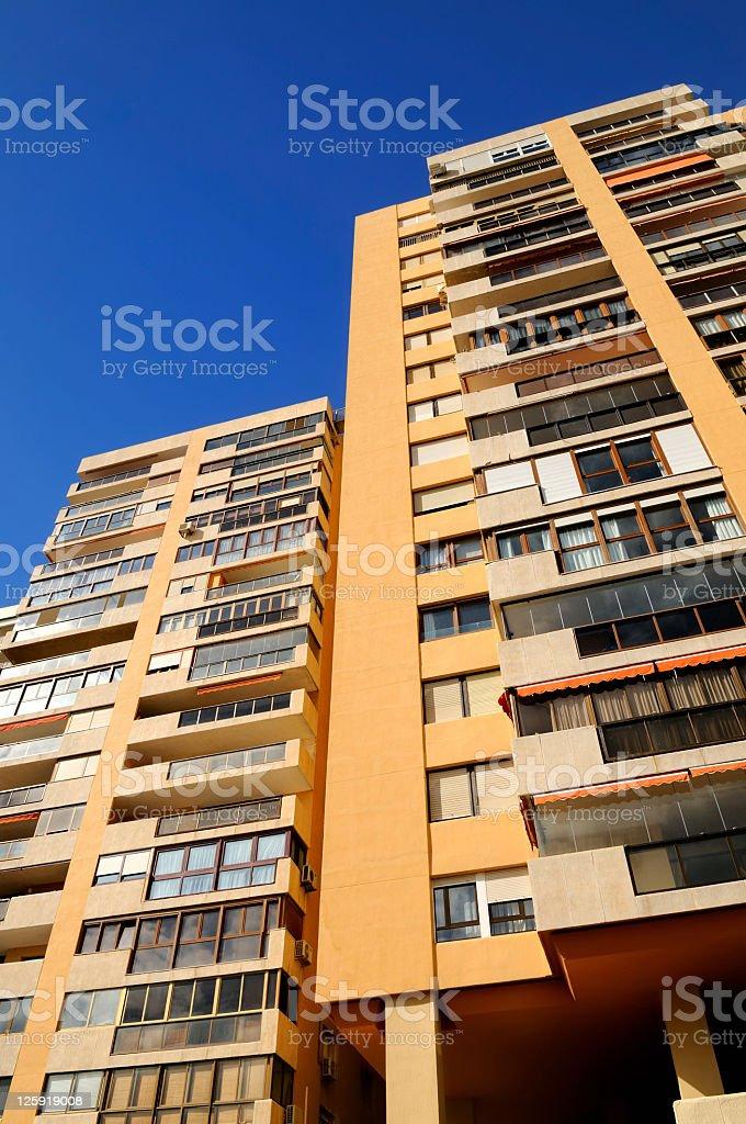 High Rise Apartments, Malaga stock photo