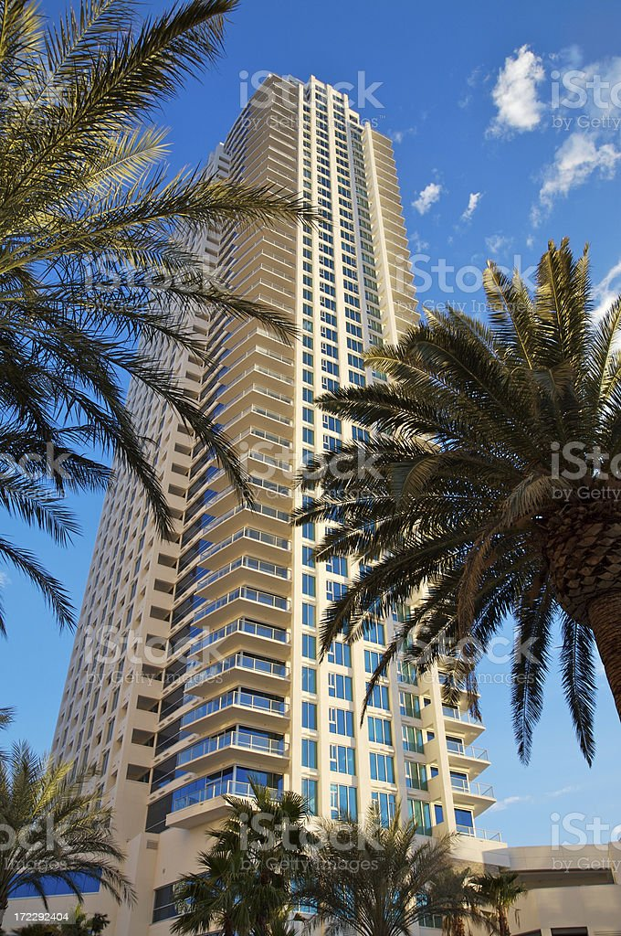 High Rise Condo stock photo