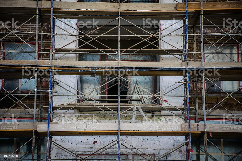 High Rise Construction Pattern Development Central Texas stock photo