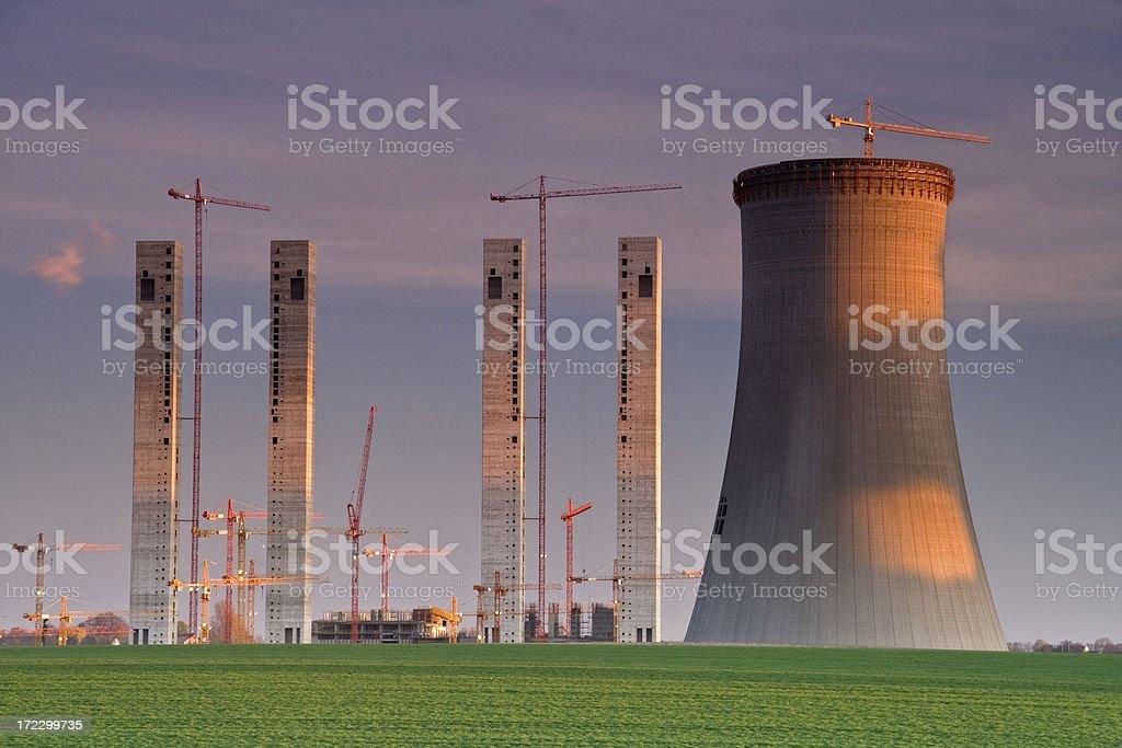 High rise construction. stock photo