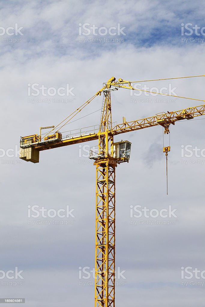 High rise construction royalty-free stock photo