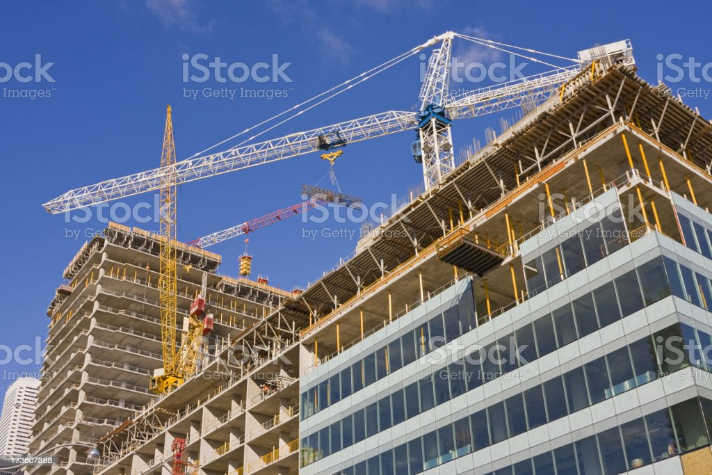 High rise construction # 7 XL royalty-free stock photo