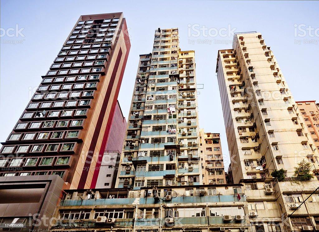 High rise flats in HongKong royalty-free stock photo