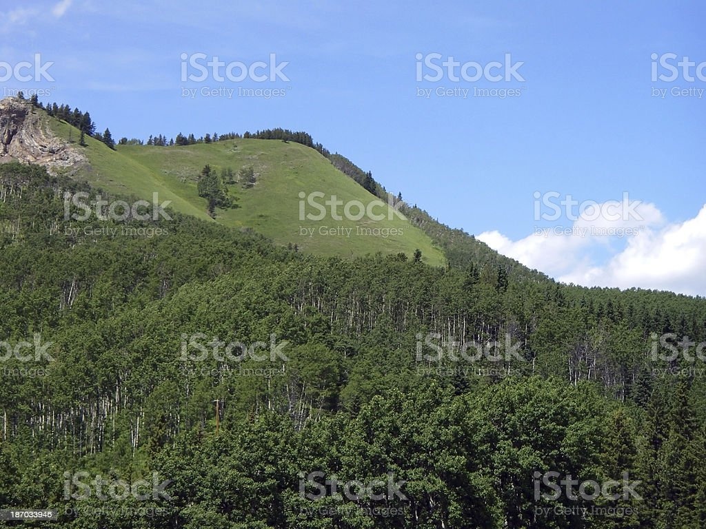 High Rise Hills royalty-free stock photo