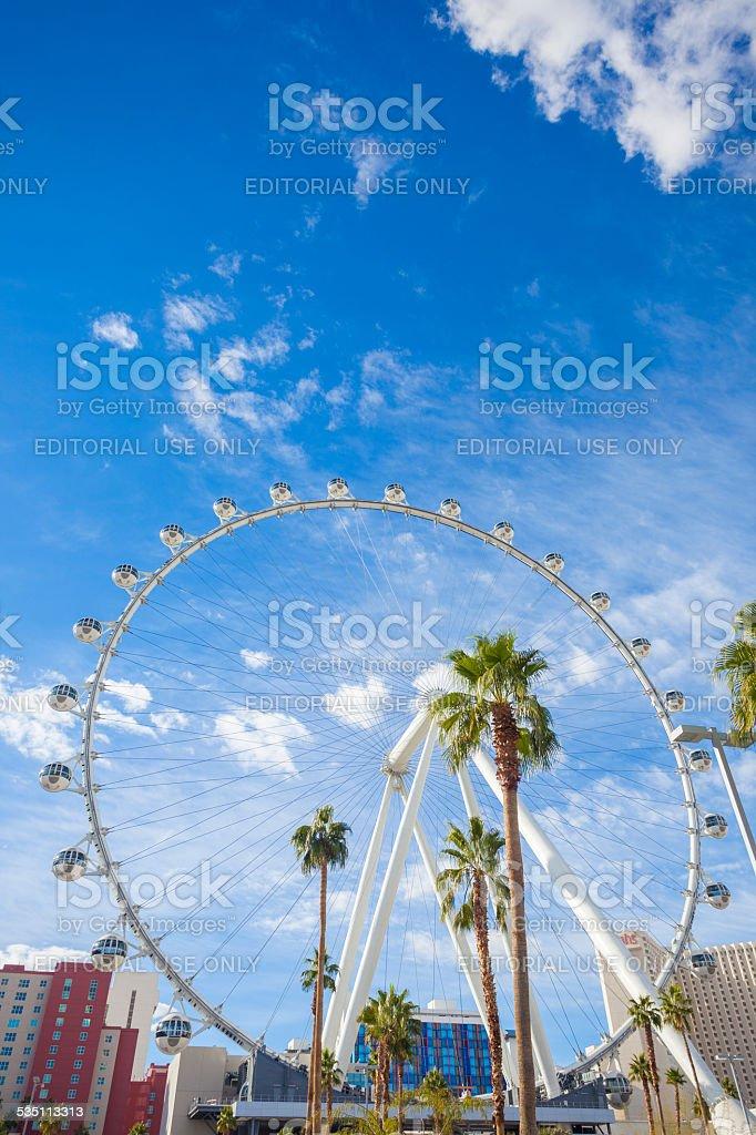 High Roller Las Vegas stock photo
