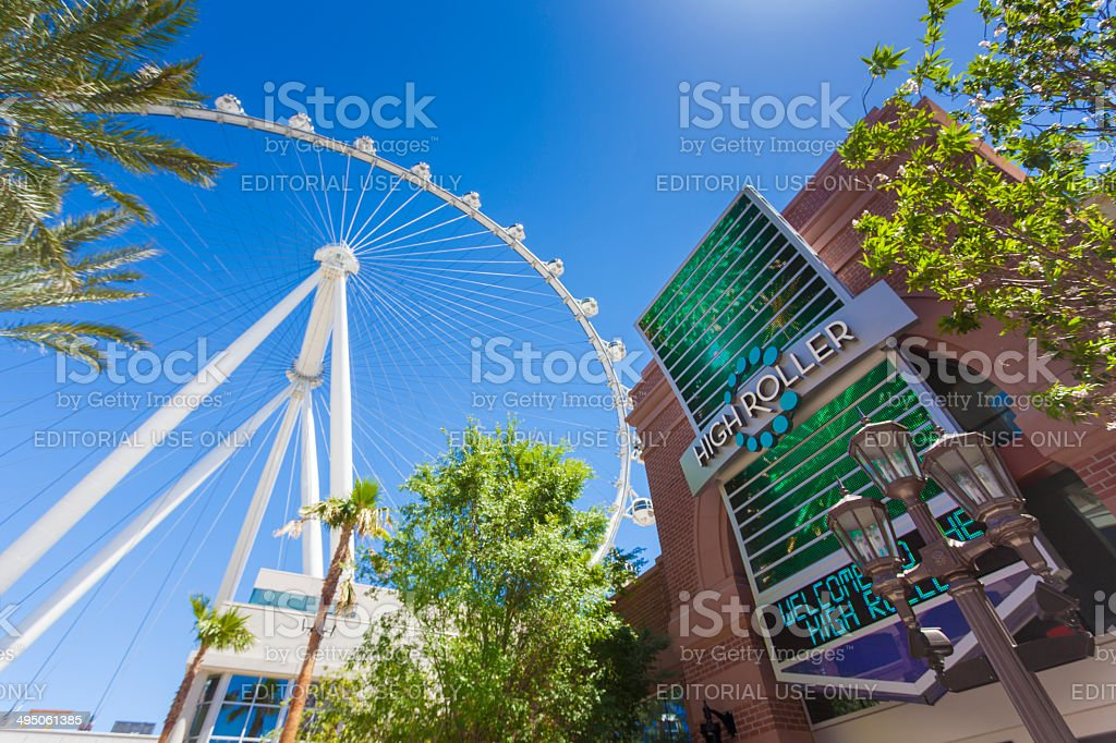 High Roller stock photo