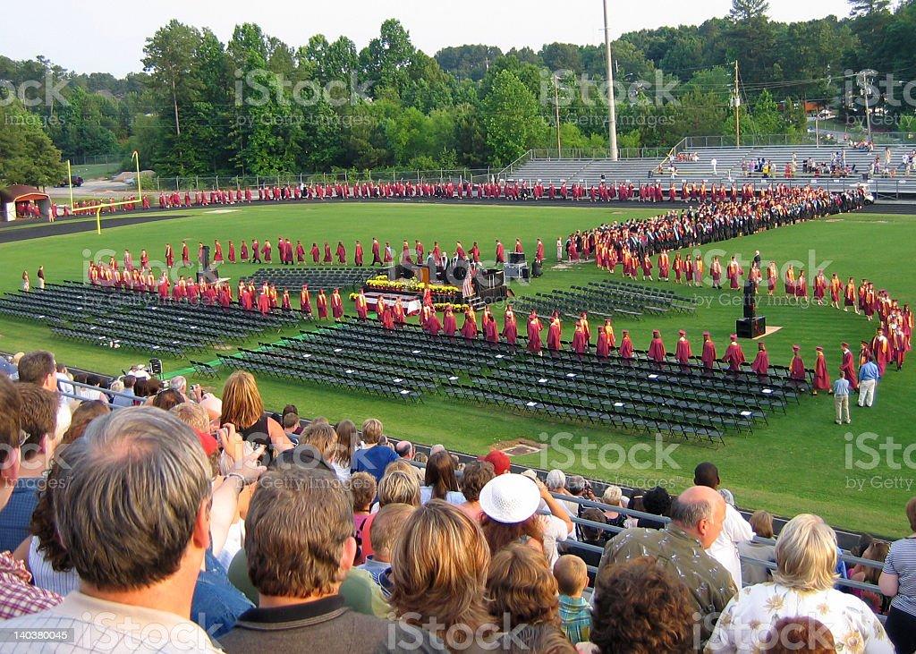 High School Graduation stock photo