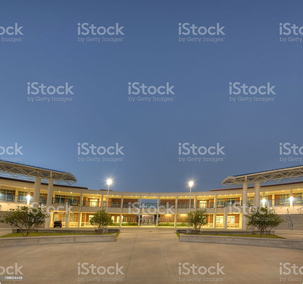 High School in Florida royalty-free stock photo