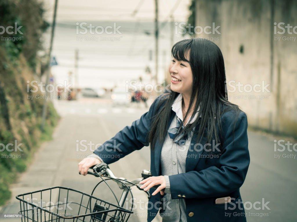 High school student stock photo