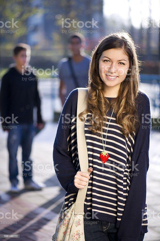 high school teenager royalty-free stock photo