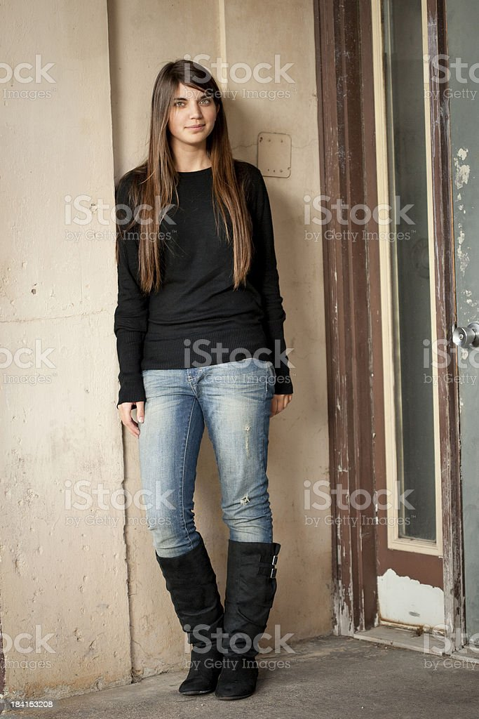 High School/College Age Female royalty-free stock photo