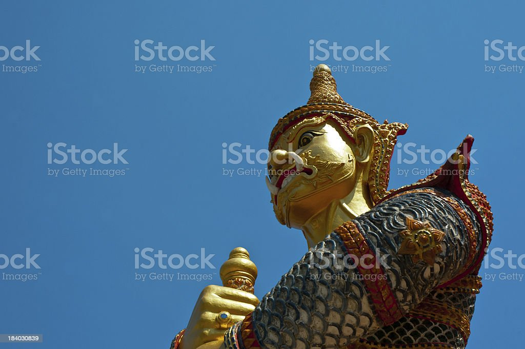 high sculpture about titan royalty-free stock photo