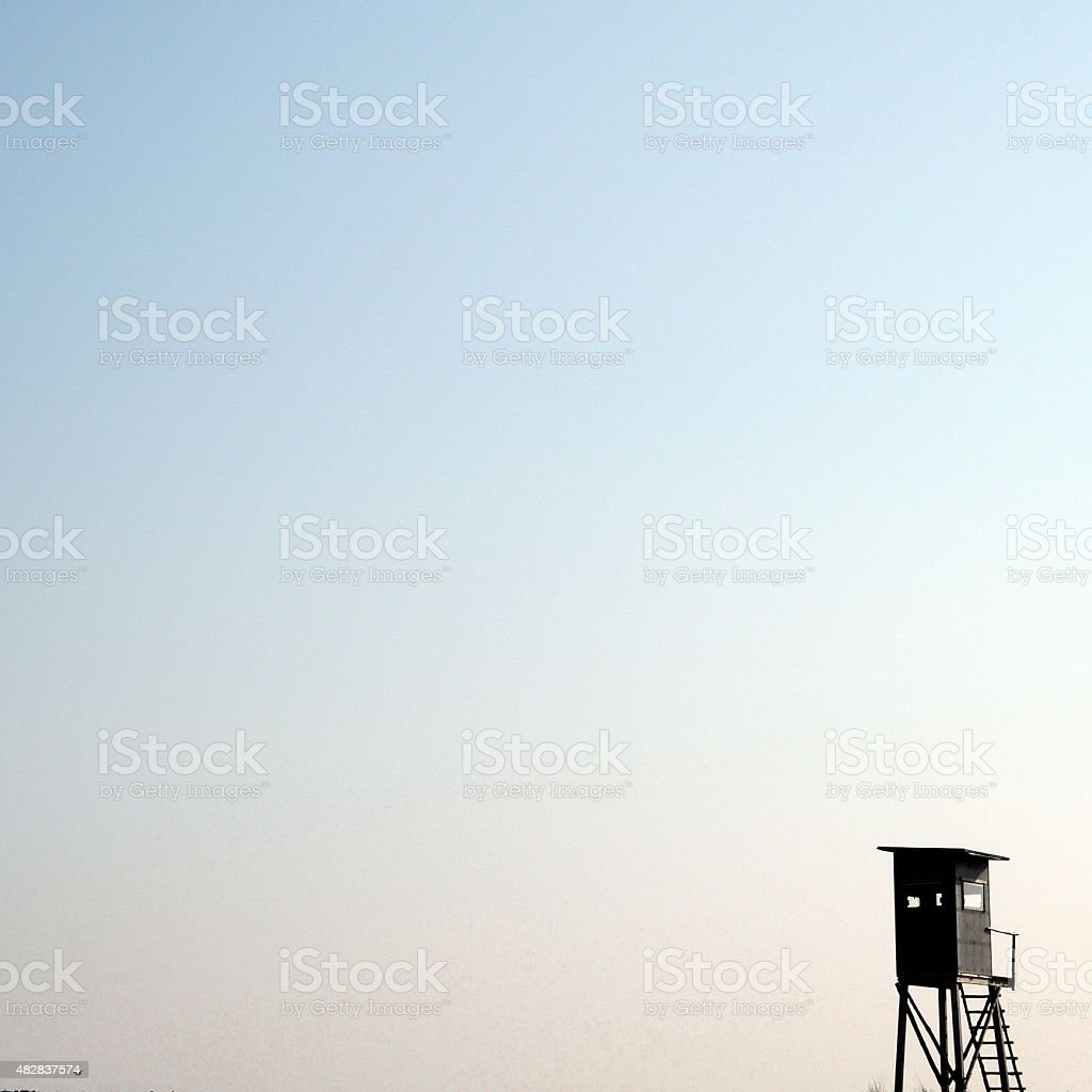 High seat stock photo