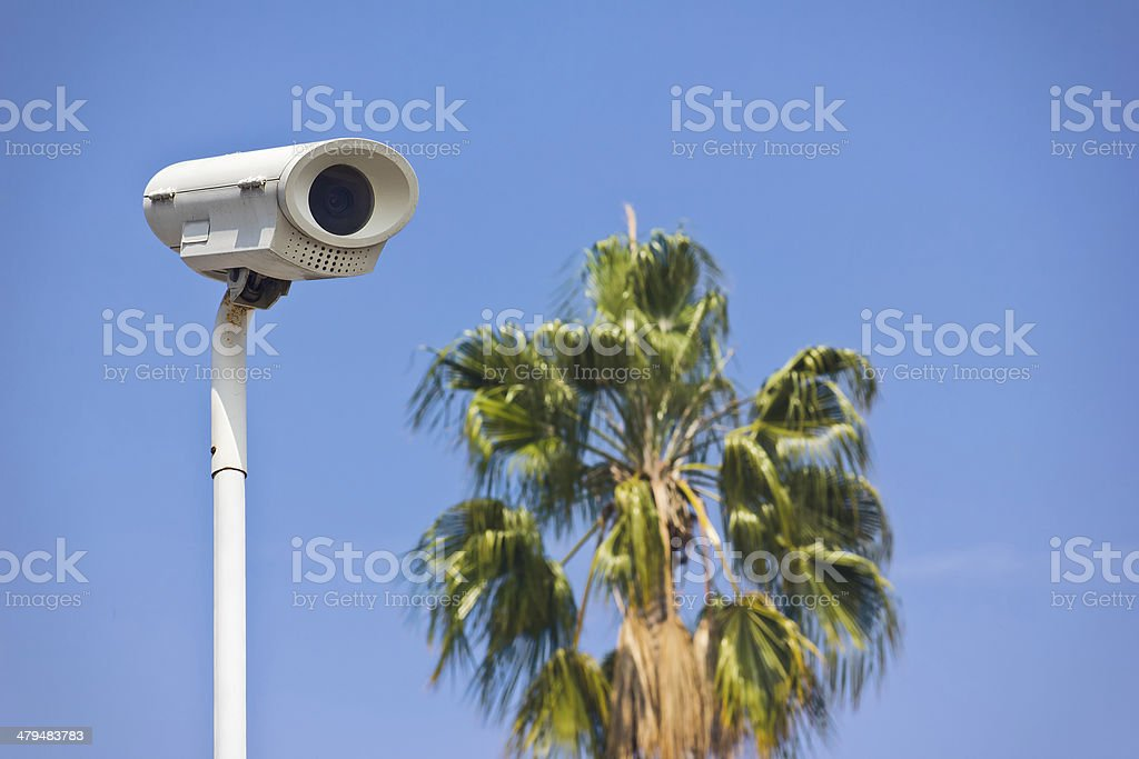 High Security Camera royalty-free stock photo