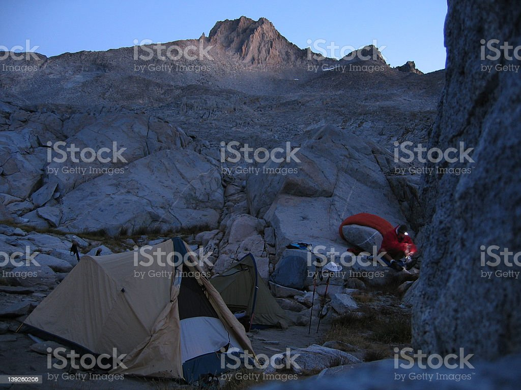 High Sierra Camp #5 royalty-free stock photo