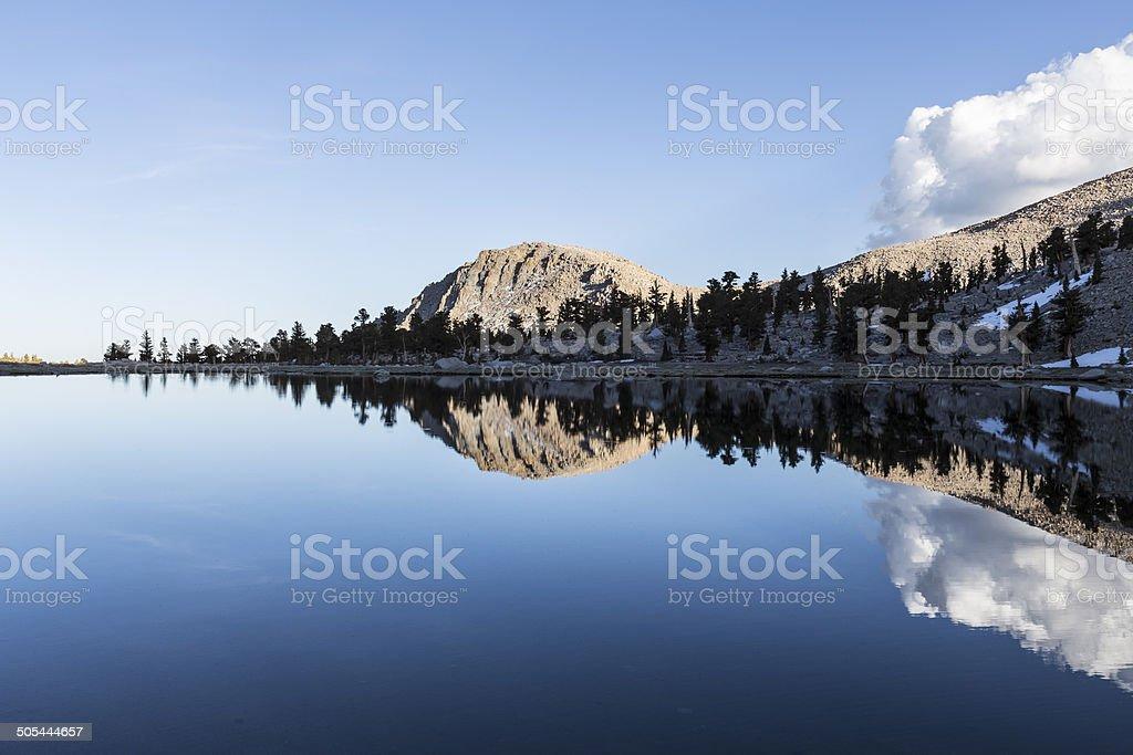 High Sierra Lake Central California stock photo