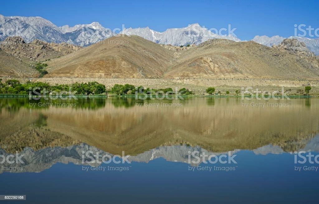 High Sierra Mirror stock photo