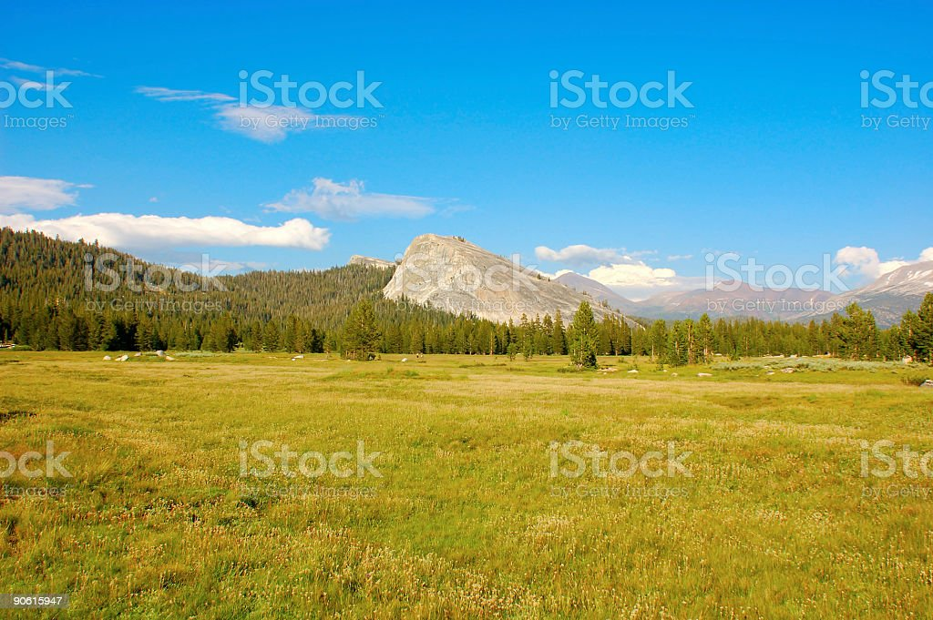 High Sierra stock photo
