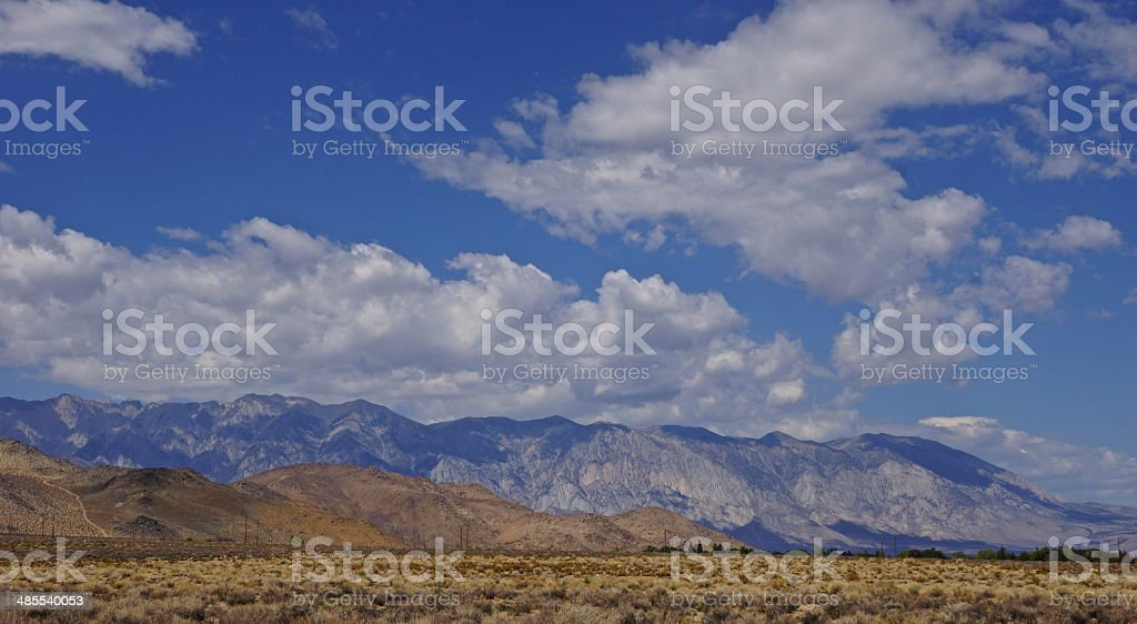 High Sierra Ridge stock photo