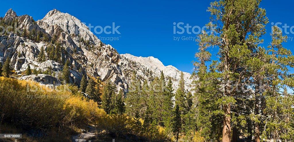 High Sierra trail royalty-free stock photo