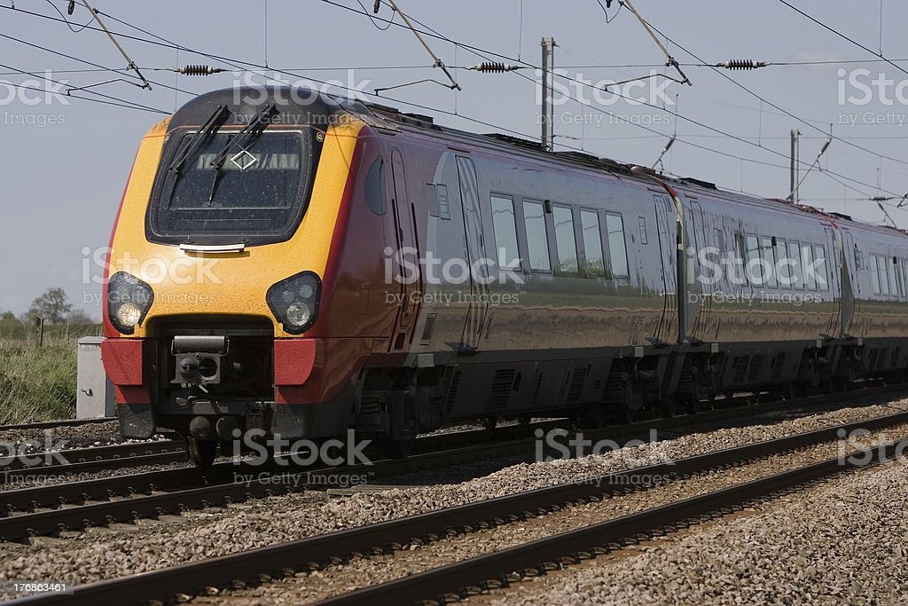 High Speed Commute royalty-free stock photo