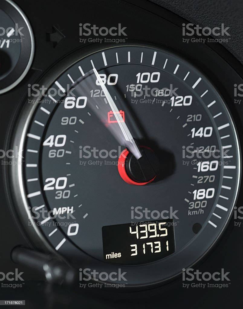 High Speed Driving stock photo