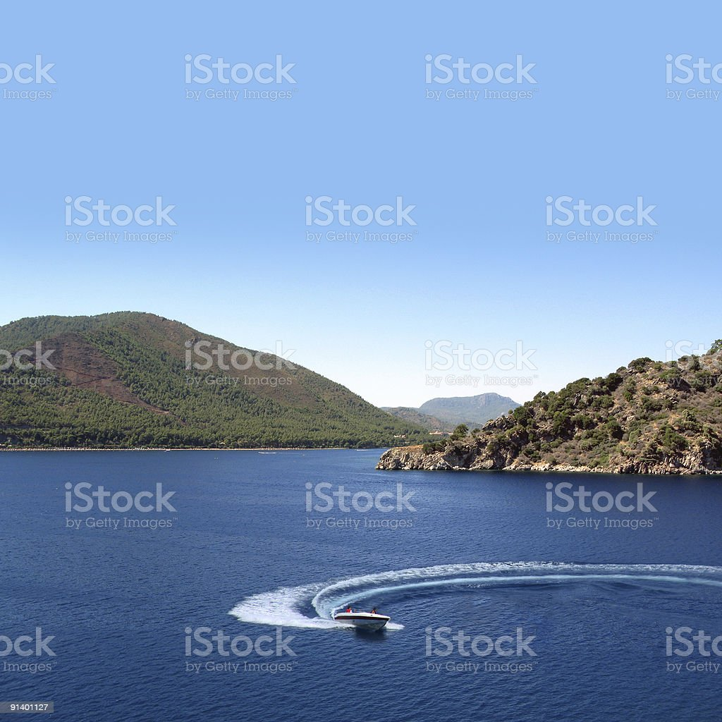 High Speed In Nature royalty-free stock photo