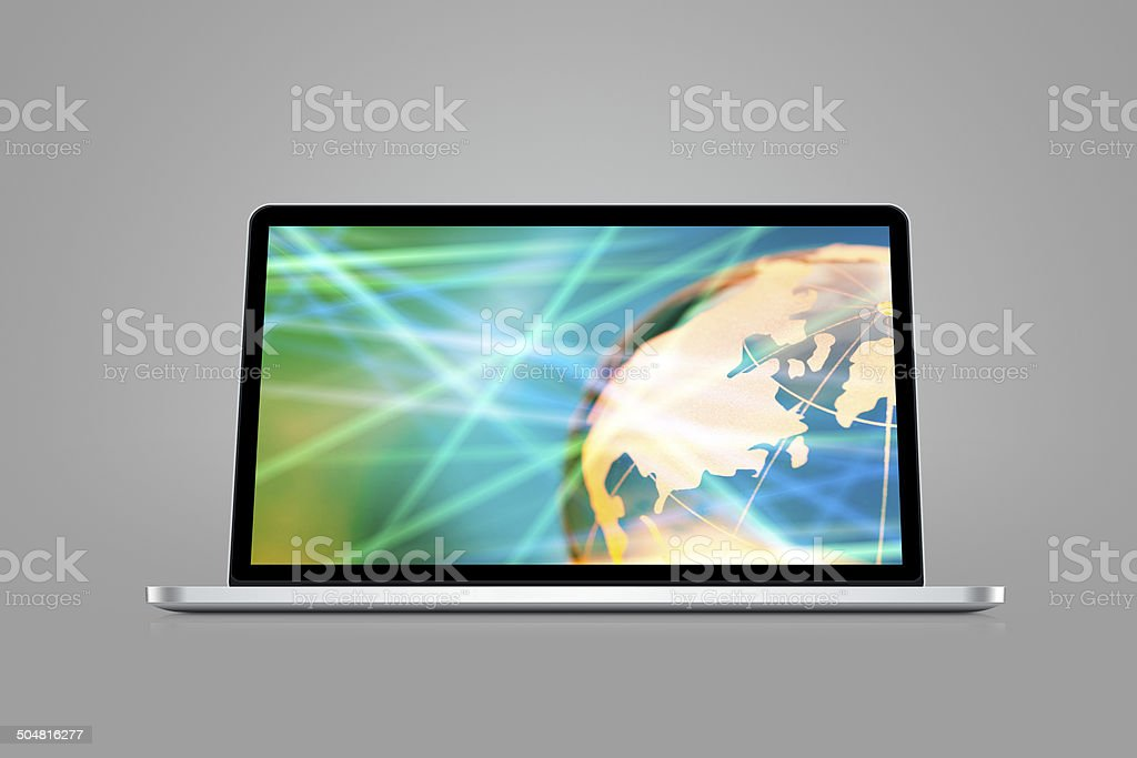 High speed internet stock photo
