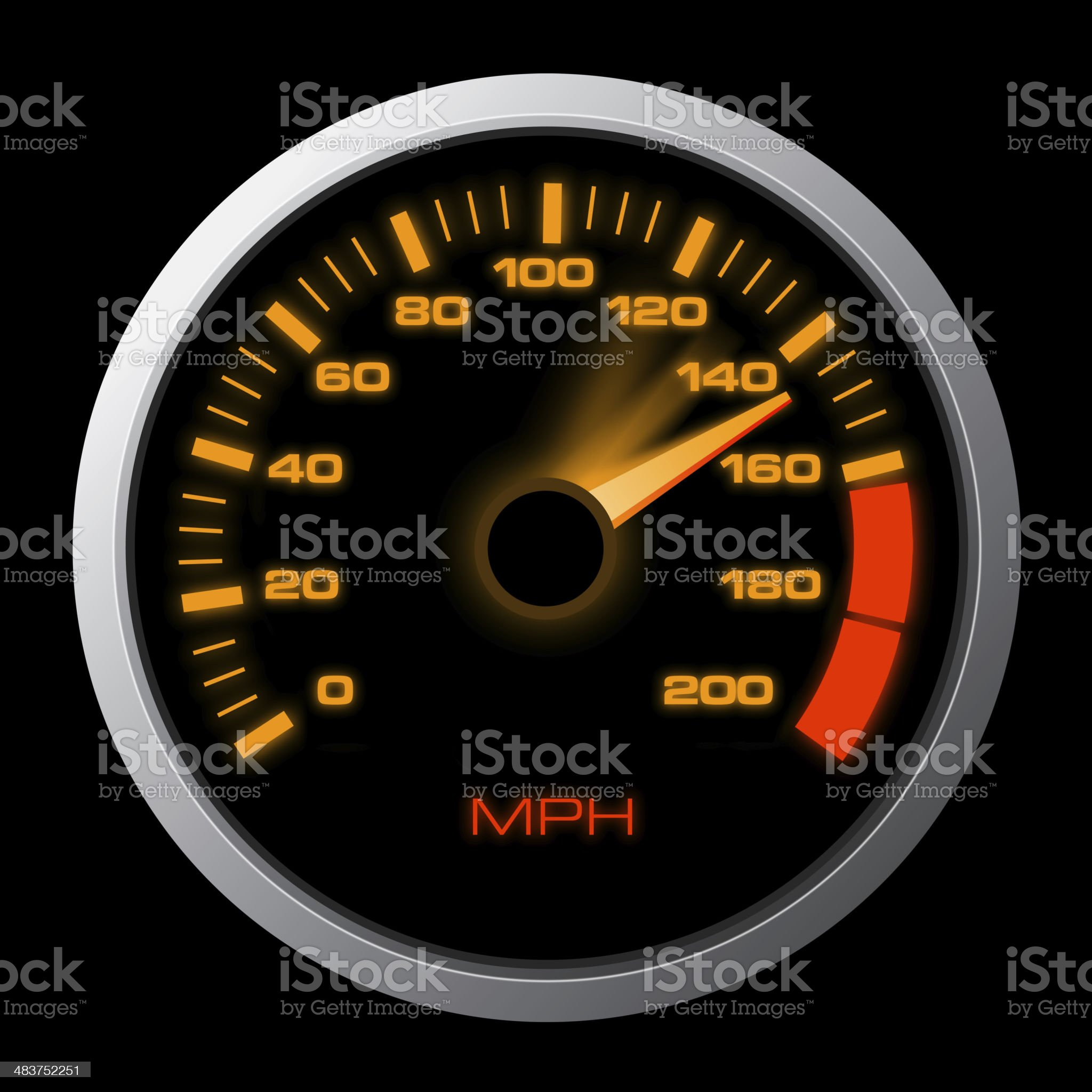 High Speed royalty-free stock photo