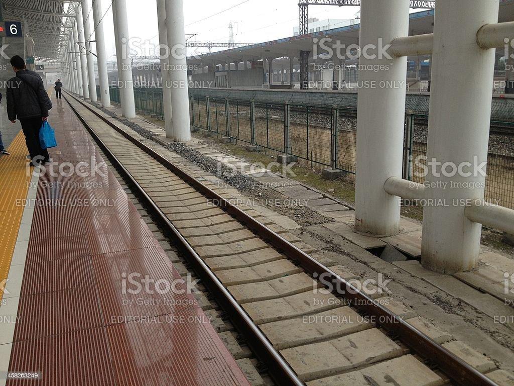 High Speed Railroads royalty-free stock photo