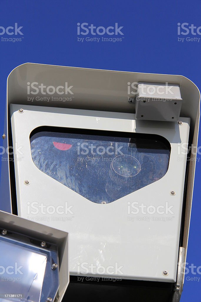 High Speed Traffic Camera stock photo