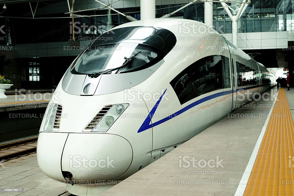 High Speed Train of China - XLarge stock photo