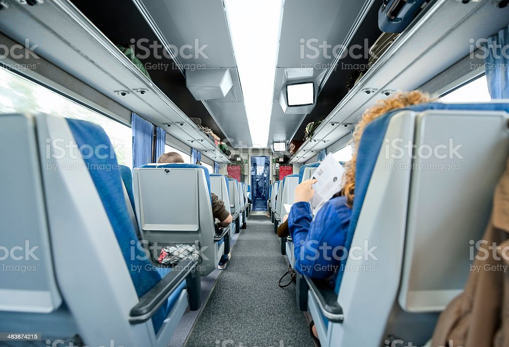 High speed train. stock photo