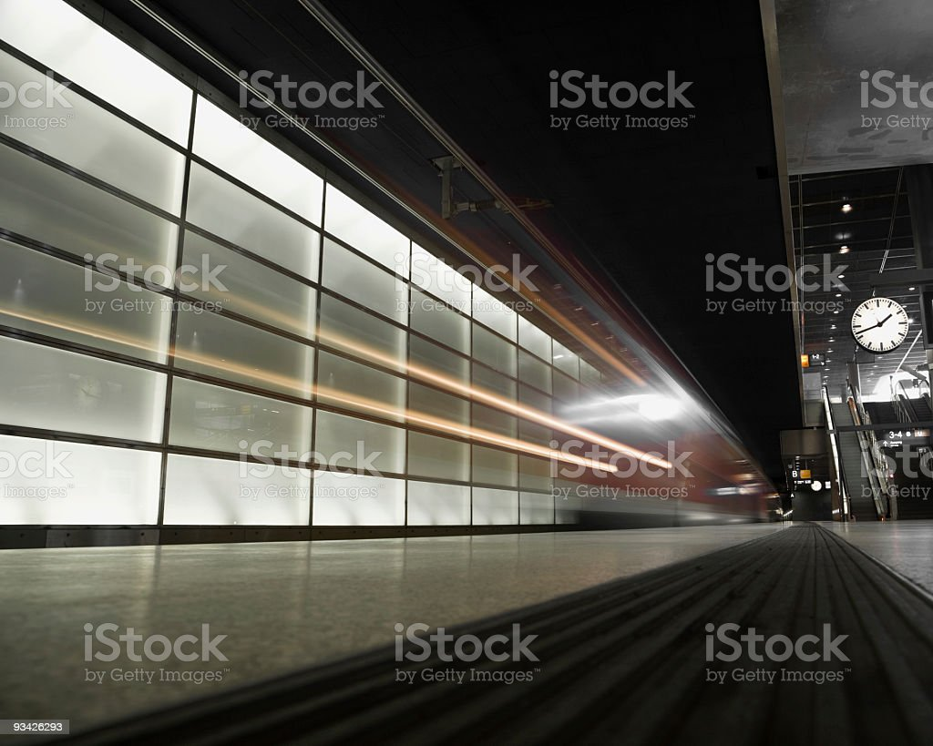 high speed train royalty-free stock photo