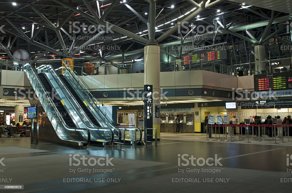 High Speed Train Station royalty-free stock photo