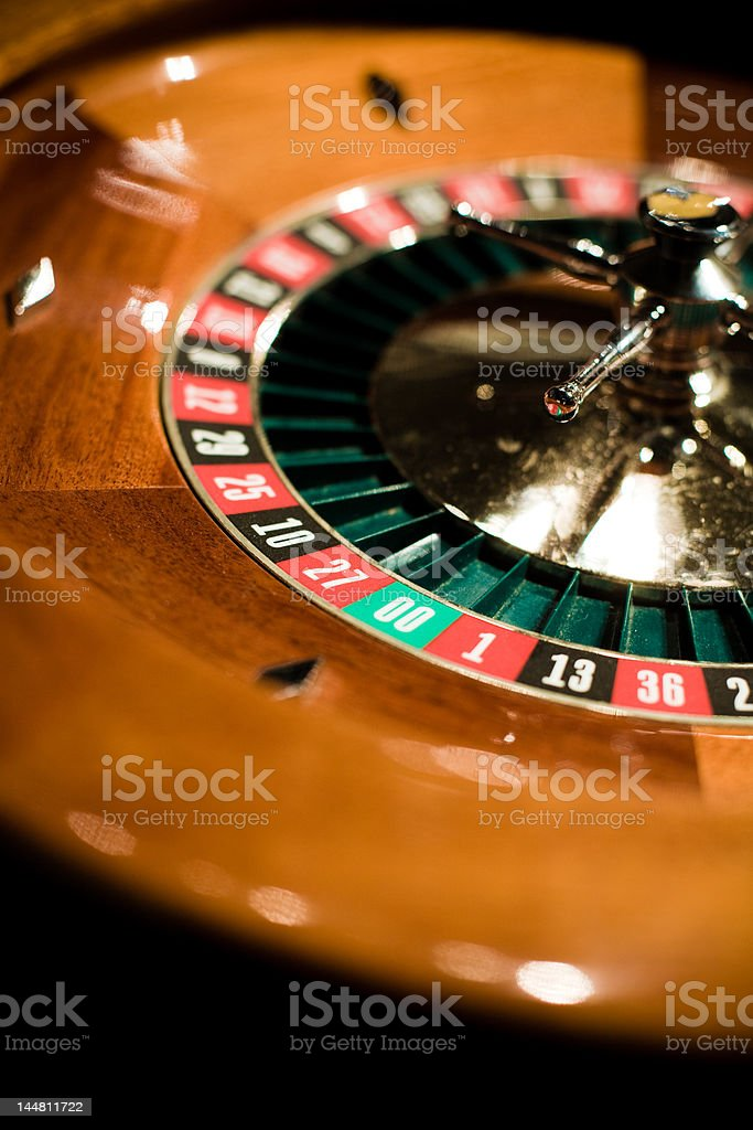high stakes gambling at the casino roulette table royalty-free stock photo