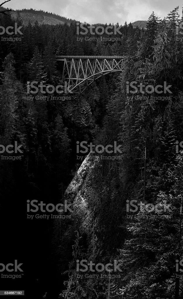 High Steel Bridge stock photo