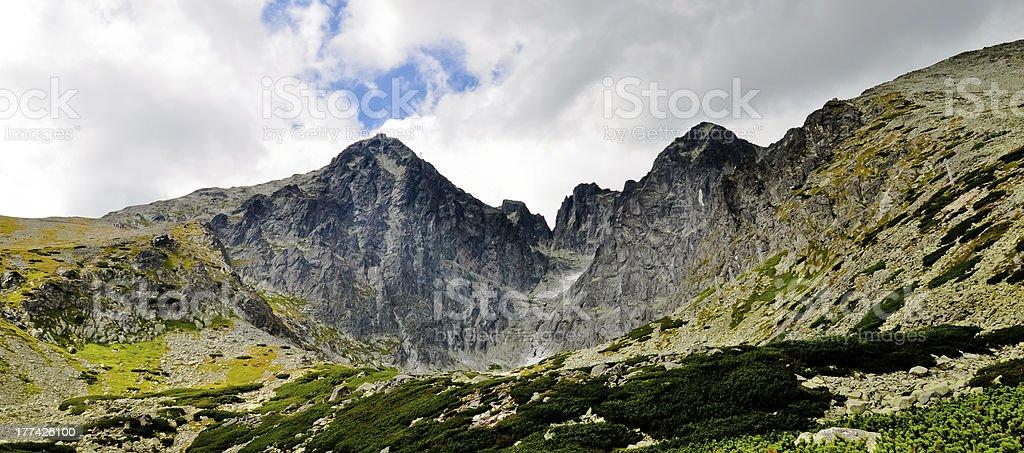 Hohe Tatra mountains panorama Lizenzfreies stock-foto