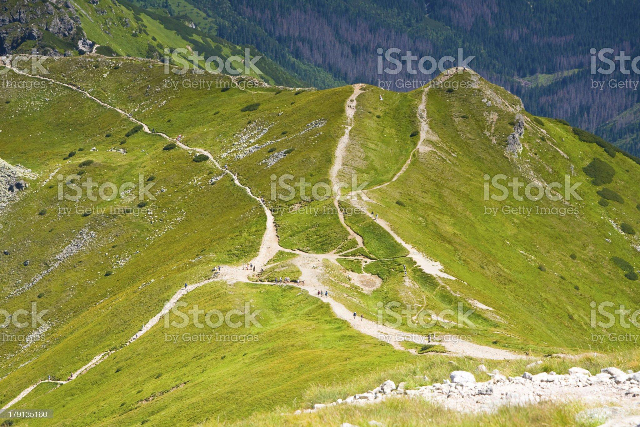 High Tatra Mountains, Poland royalty-free stock photo