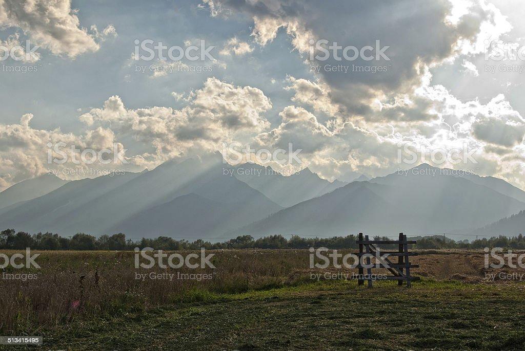 Tatras alta foto de stock libre de derechos