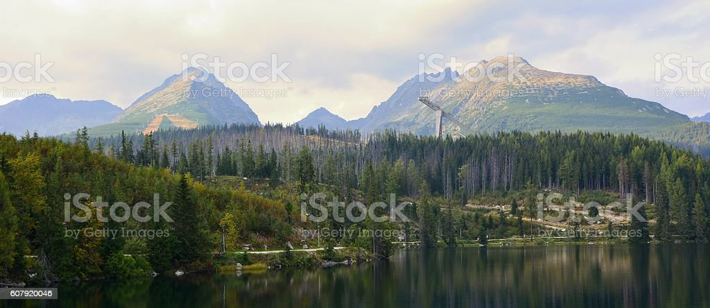 High Tatras stock photo