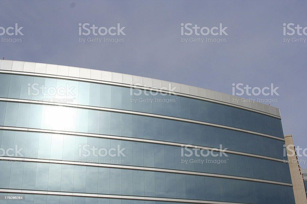 High Tech Building stock photo