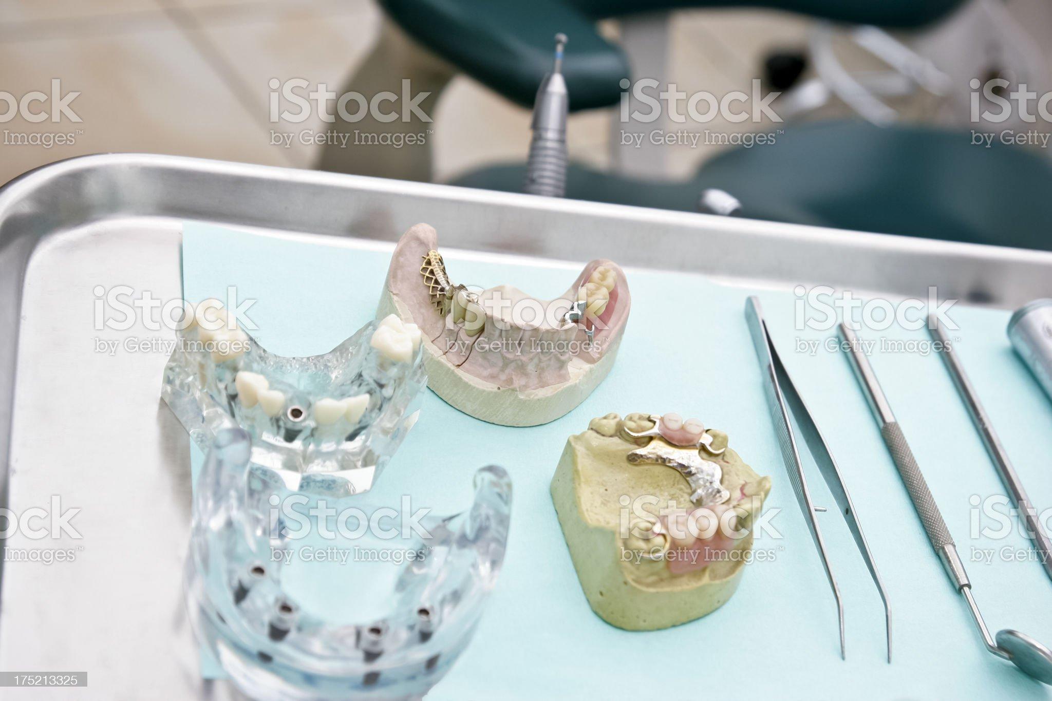 High Tech Dentures royalty-free stock photo