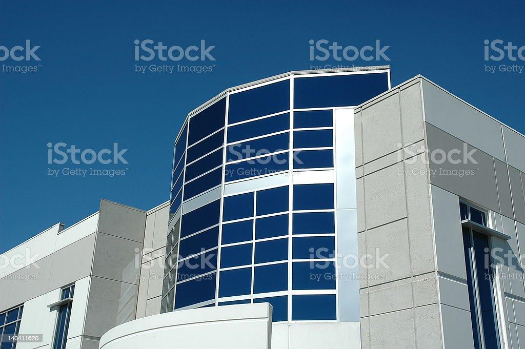 High Tech Modern Office Building stock photo