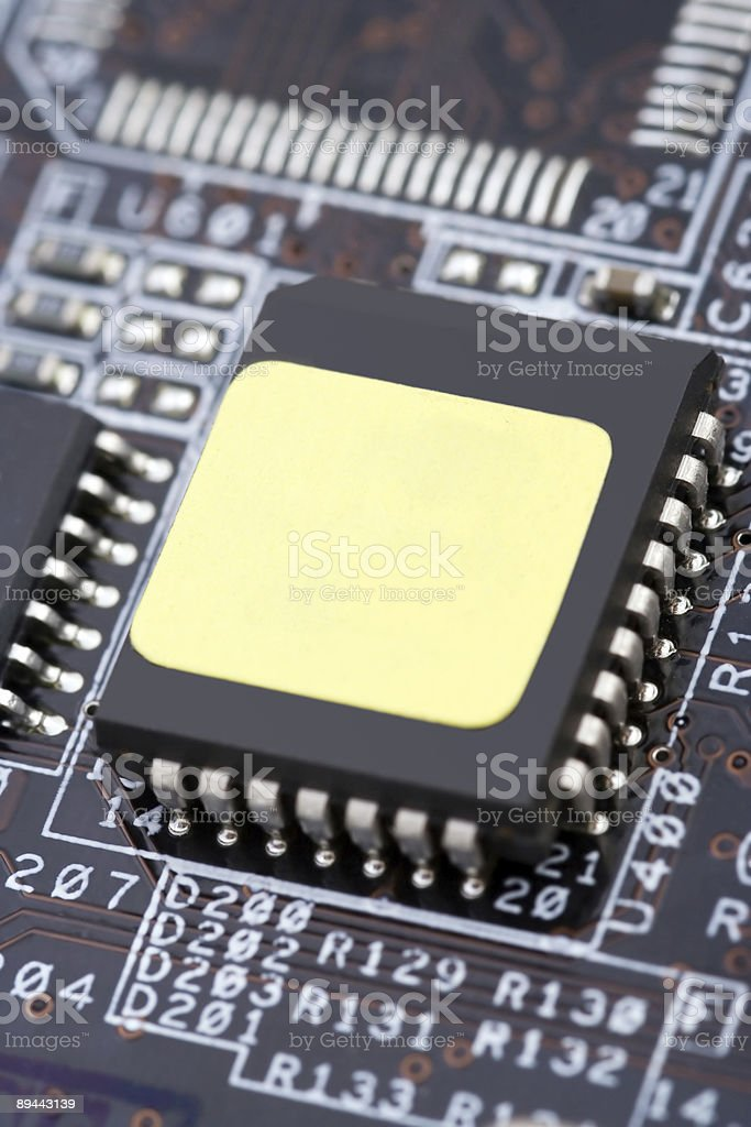 Hightech royalty-free stock photo
