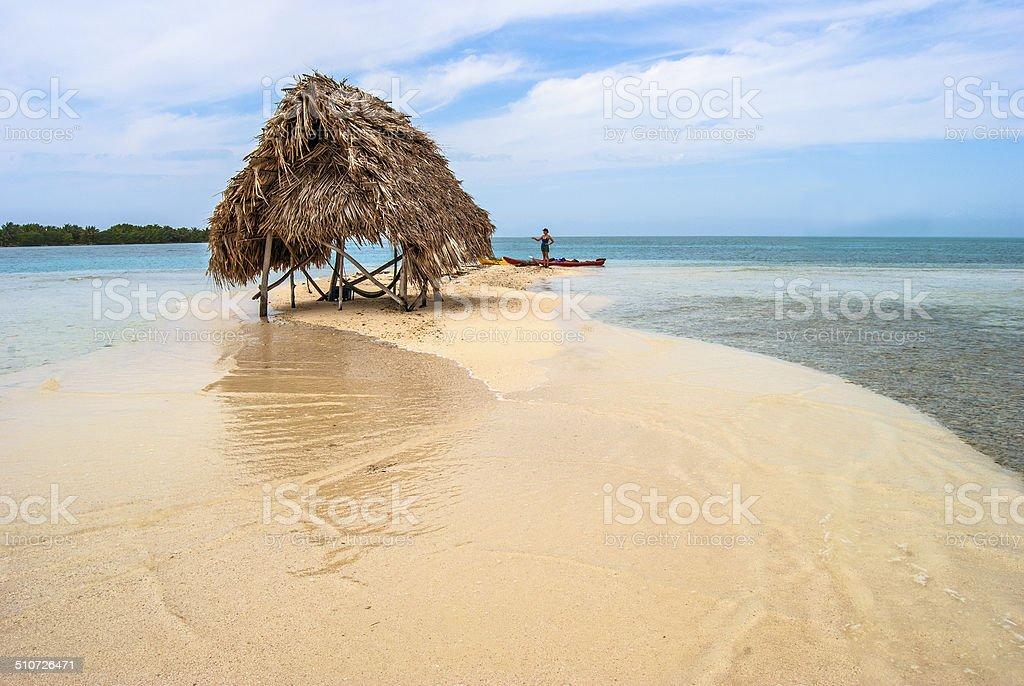 High Tide Hut stock photo